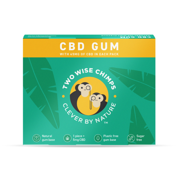Two Wise Chimps CBD Gum